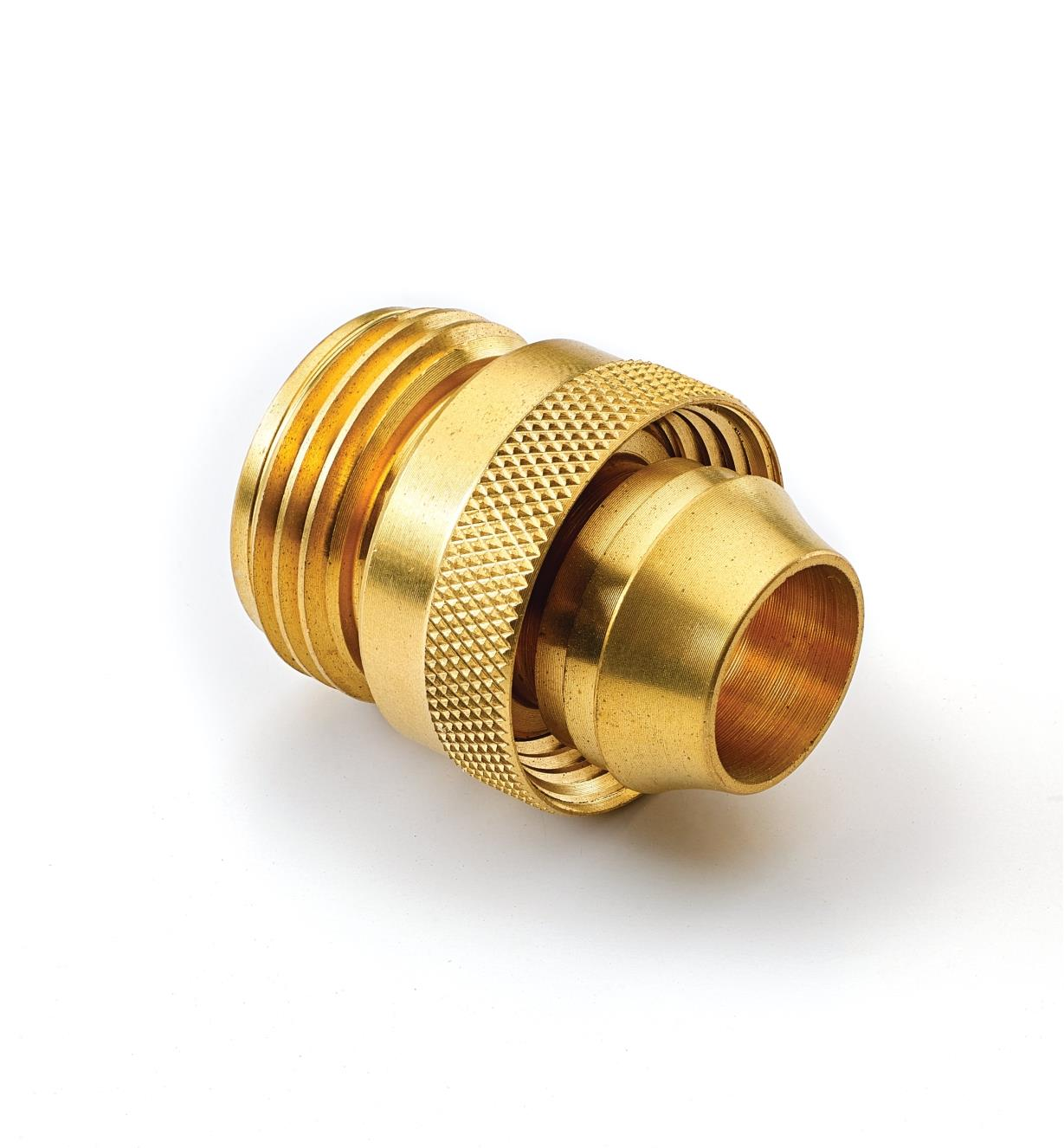 XB427 - Male Brass Hose Coupler, 3/4""