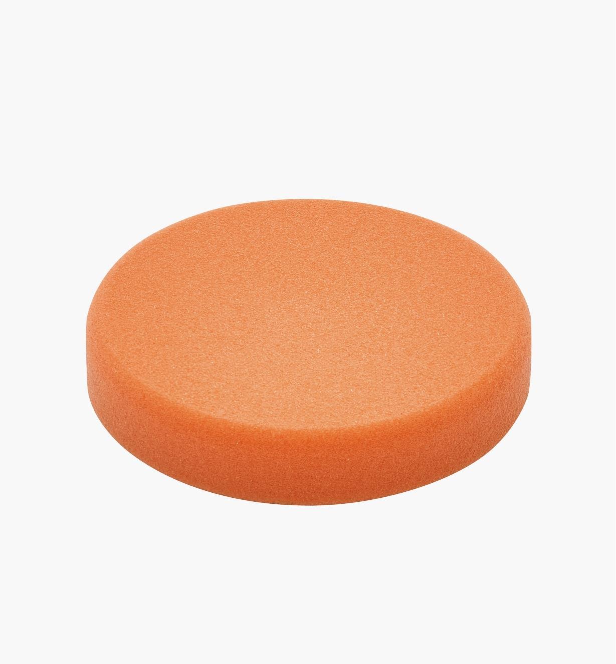 Éponge de polissage orange de 80 mm