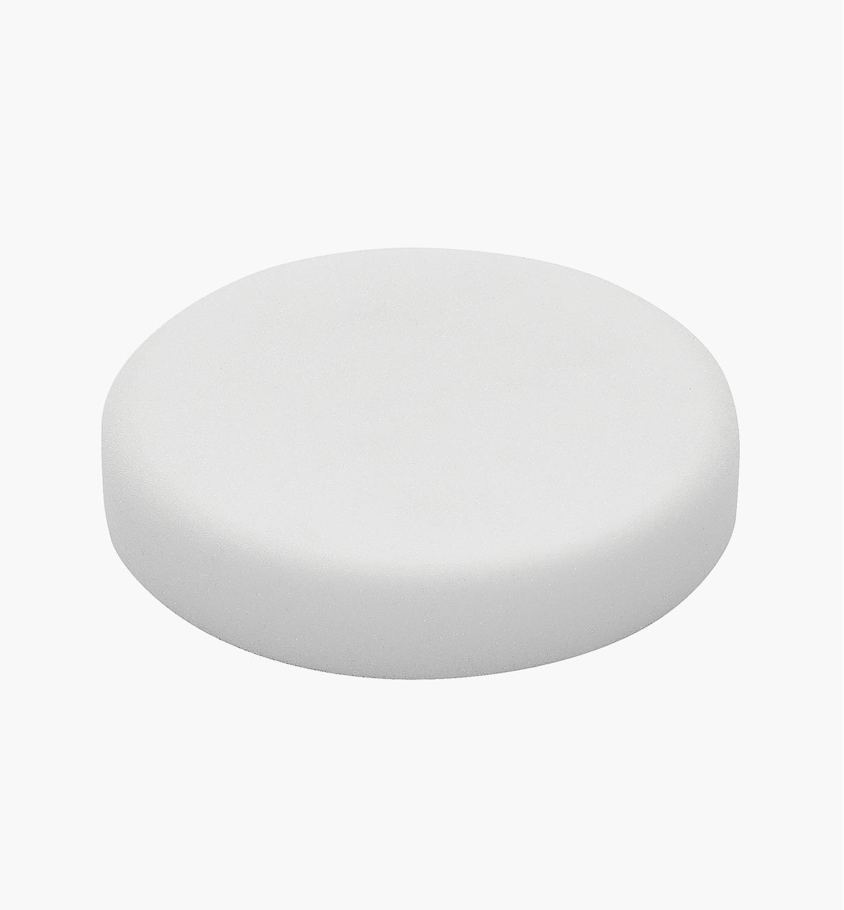 Éponge de polissage blanc de 125 mm