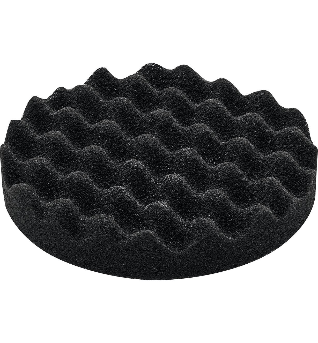 Éponge de polissage noir de 80 mm