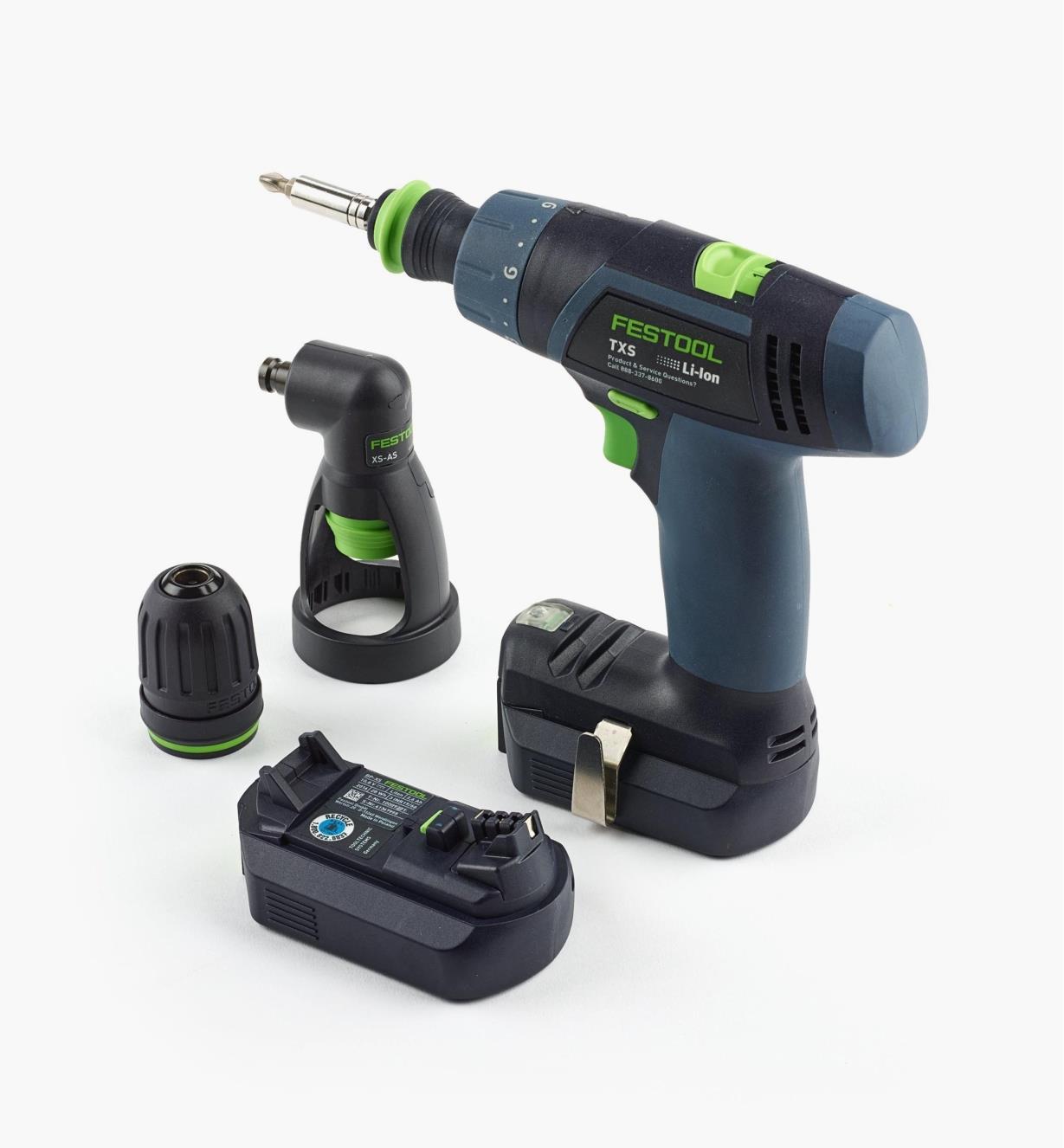 TXS Cordless Drill Set