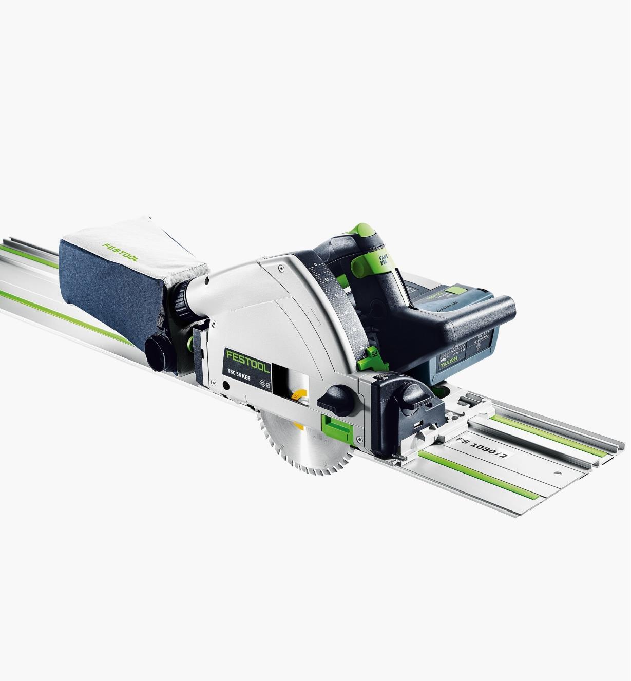 Scie sur rail sans fil TSC 55 KEBI-F-Set-FS