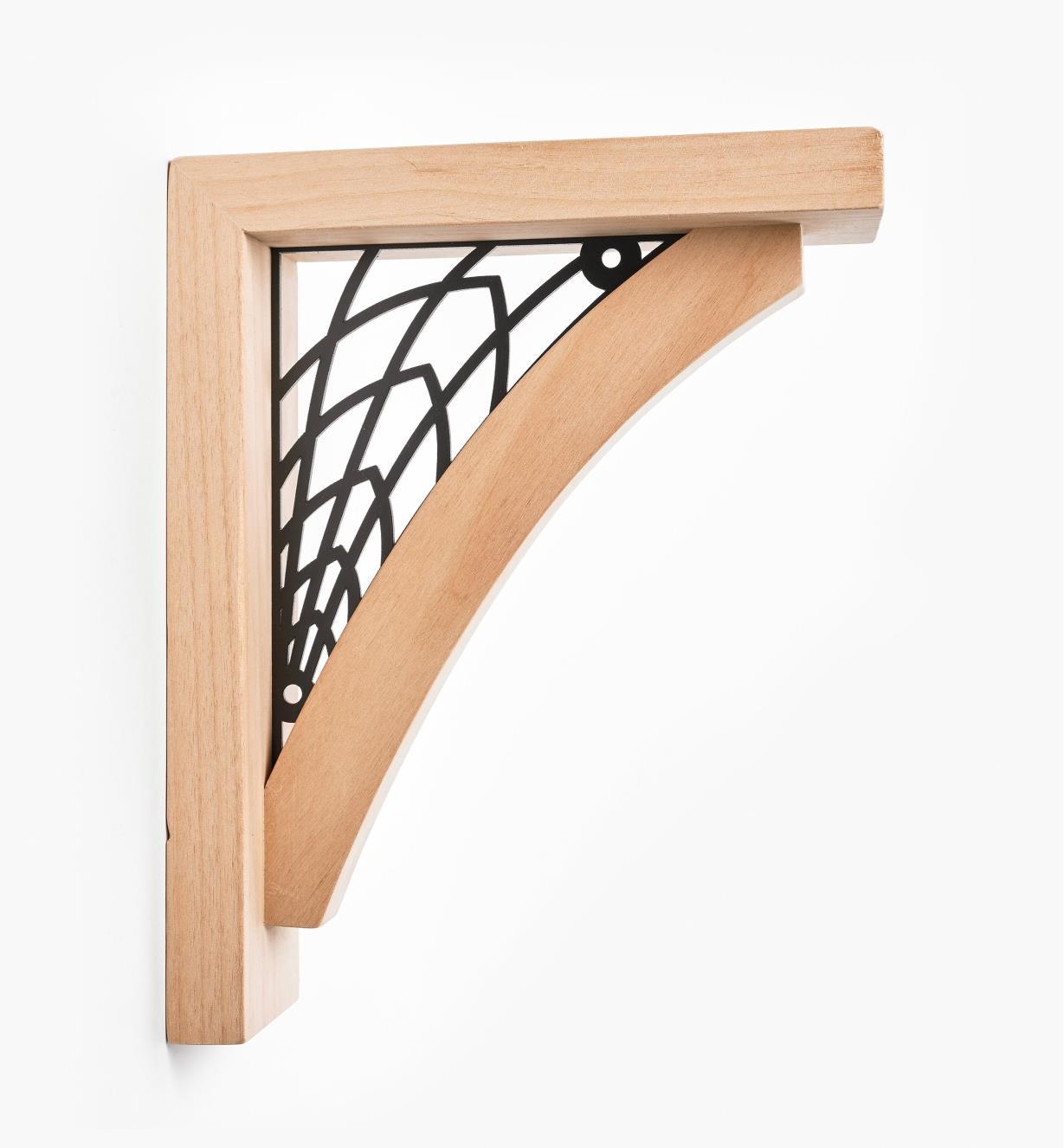 00S0730 - Web Wooden Shelf Bracket