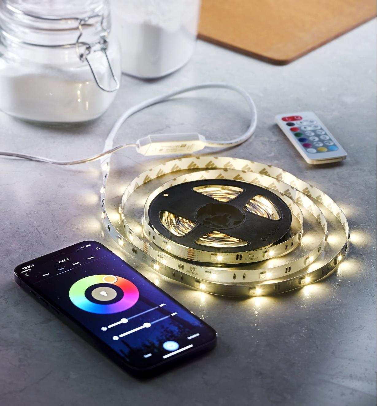 00U4119 - Color-Controlled Indoor LED Tape Light Kit