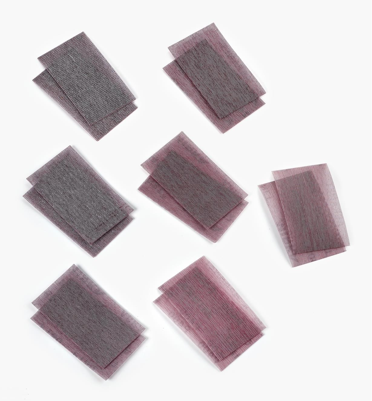 55K9391 - 14-Pc. Sampler, Abranet Sheets (80x-600x)