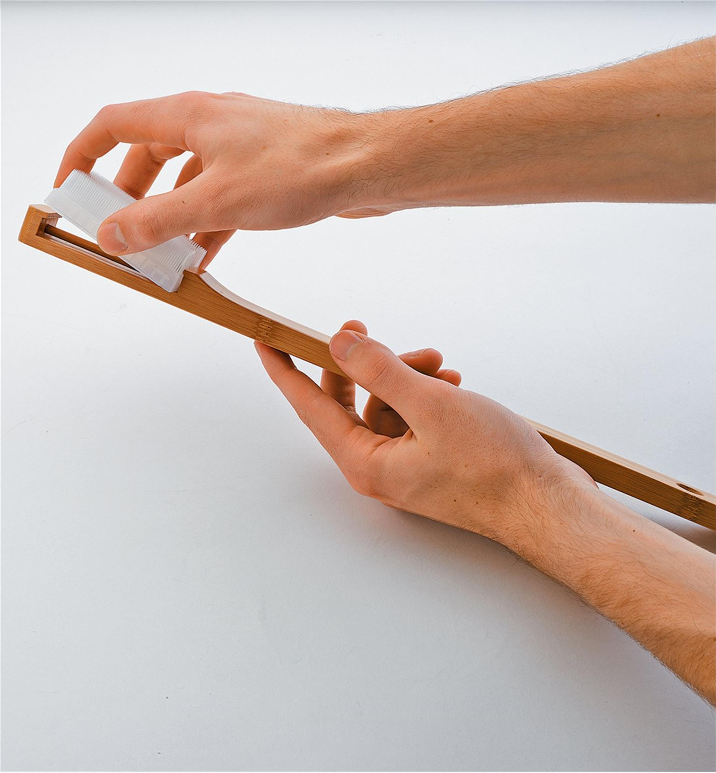 the world's kindest nail brush