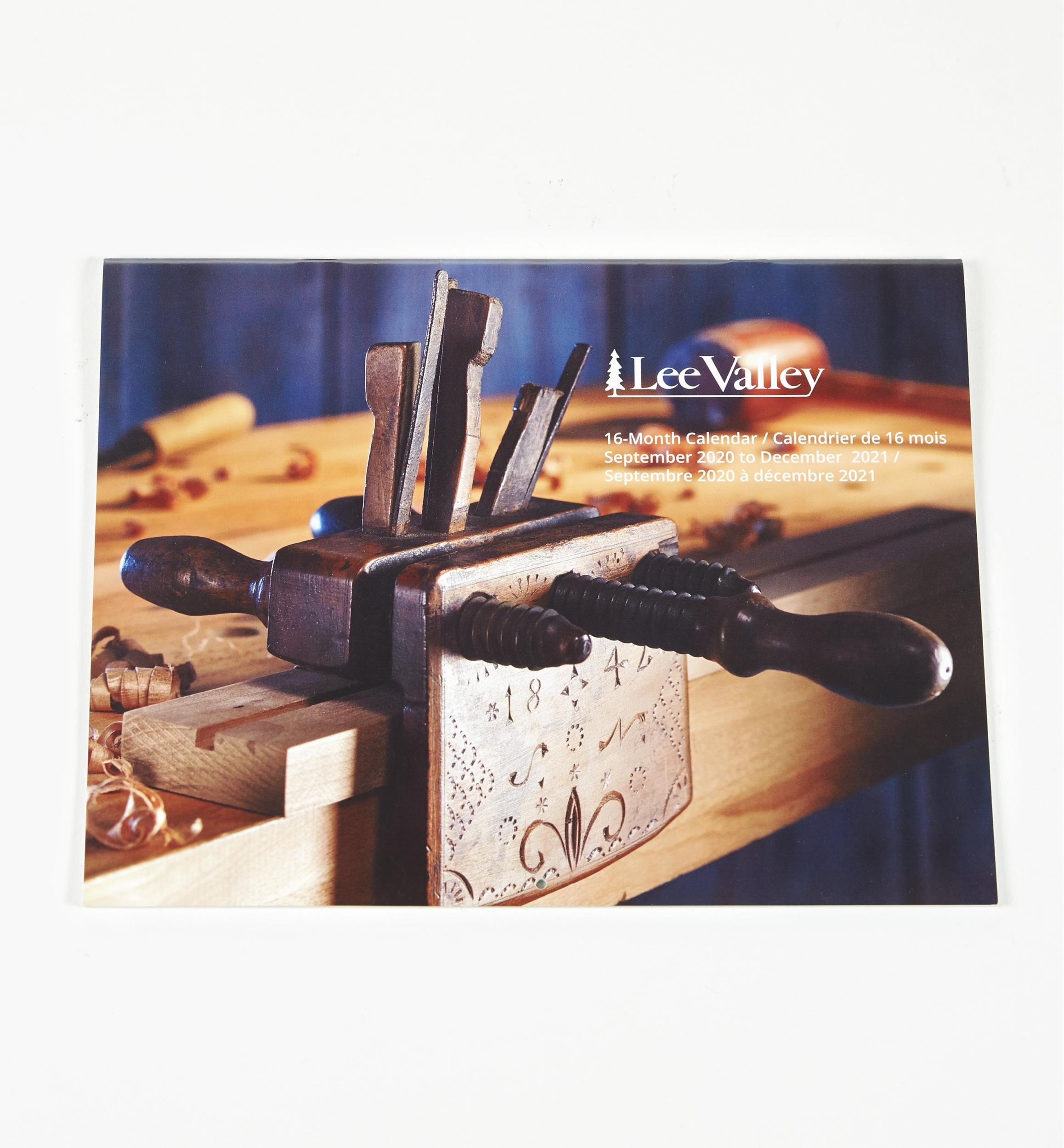 Lee Valley 16 Month Calendars   Lee Valley Tools